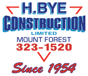 H. BYE CONSTRUCTION LIMITED